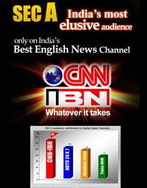 SEC A, India's most elusive audience only on India's Best English News Channel