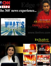 CNN-IBN the 360 news experience